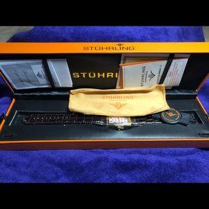 Men's Stuhrling watch.  New